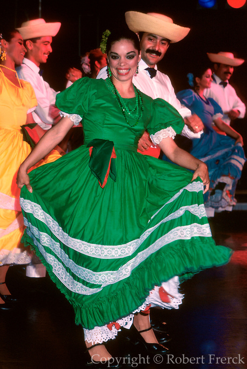 PUERTO RICO, ENTERTAINMENT San Juan; Le Lo Lai, dance group performing traditional folkloric dances of the island