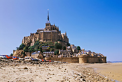 July 21, 2019 - Mont Saint Michel Monastery On Normandy Coast, France (Credit Image: © Bilderbuch/Design Pics via ZUMA Wire)