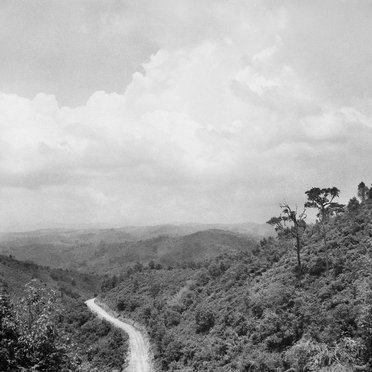 Landscape, Belgian Congo (now Democratic Republic of the Congo), Africa, 1937