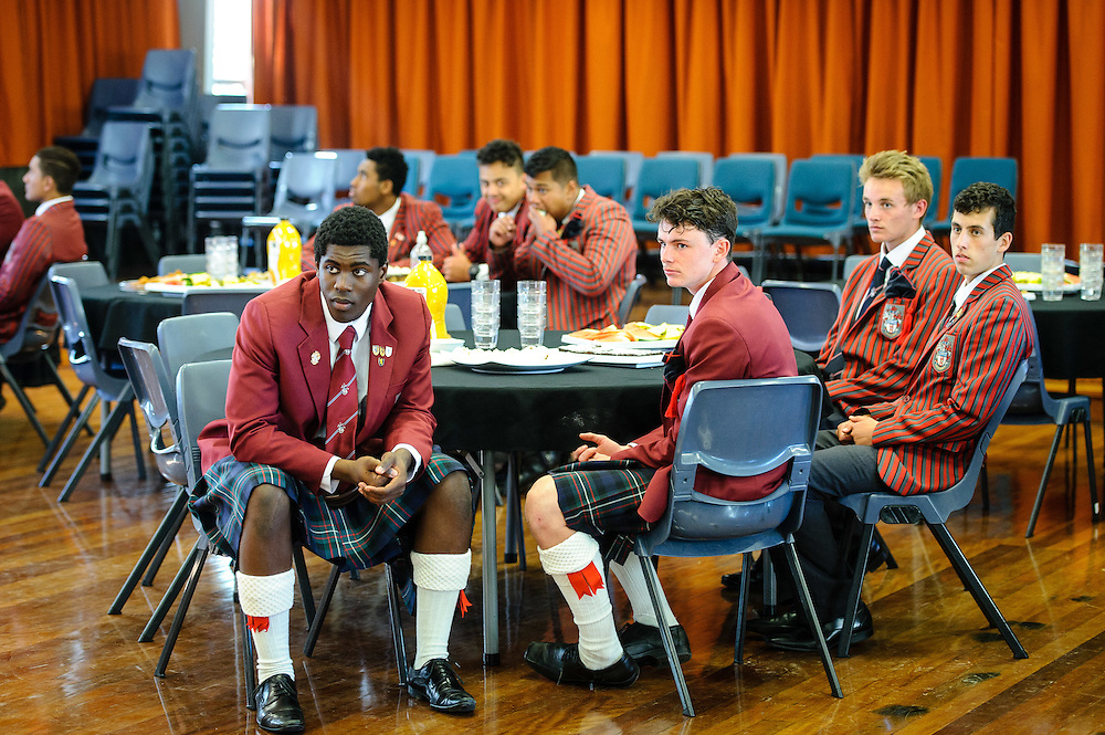 WELLINGTON, NEW ZEALAND - April 26: Rugby Quad Tournament Old Boys Reception April 26, 2016 in Wellington, New Zealand.  (Photo by Mark Tantrum/ http://www.scotscollege.school.nz/)