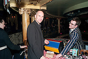 IAN RICKSON;  Press night for Jerusalem. Apollo Theatre. Shaftesbury ave. After party at the Cafe de Paris. London. 10 February 2010
