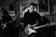 Split Single concert photo by Mara Robinson (Jason Narducy; Billy Yost; Tim Remus;) at Happy Dog. Concert photography by Cleveland music photographer Mara Robinson