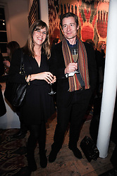 KATE ELLIOT and        at the opening of Luke Irwin's showroom at 22 Pimlico Road, London SW1 on 24th November 2010.
