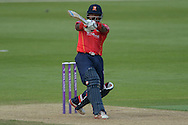 Essex all-rounder Ashar Zaidi during the Royal London One Day Cup match between Hampshire County Cricket Club and Essex County Cricket Club at the Ageas Bowl, Southampton, United Kingdom on 5 June 2016. Photo by David Vokes.