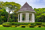 The Band Stand at the Singapore Botanic Gardens, Singapore, Republic of Singapore