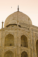 The Taj Mahal in Agra, Uttar Pradesh, India