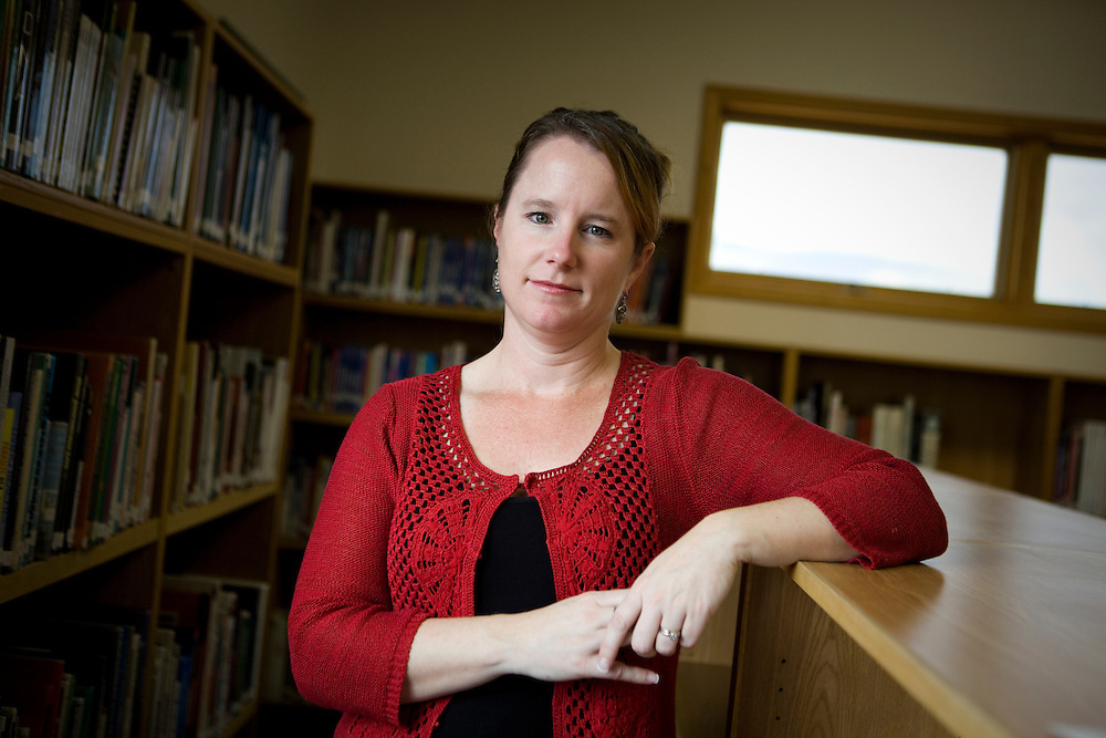 Anna Baldwin teaches high school on a Native American reservation in Arlee, Montana.
