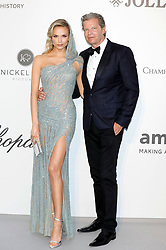 May 23, 2019 - Antibes, Alpes-Maritimes, Frankreich - Natasha Poly and Peter Bakker attending the 26th amfAR's Cinema Against Aids Gala during the 72nd Cannes Film Festival at Hotel du Cap-Eden-Roc on May 23, 2019 in Antibes (Credit Image: © Future-Image via ZUMA Press)