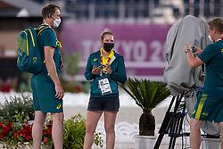 Tdeam Australia, Lucy Hartley<br /> Olympic Games Tokyo 2021<br /> © Hippo Foto - Dirk Caremans<br /> 26/07/2021