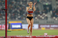Mariya Lasitskene (Authorised Neutral Athlete), Winner of the High Jump Women Final during the 2019 IAAF World Athletics Championships at Khalifa International Stadium, Doha, Qatar on 30 September 2019.