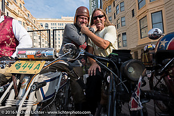 Motorcycle Cannonball Race of the Century. Stage-1 from Atlantic City, NJ to York, PA. USA. Saturday September 10, 2016. Photography ©2016 Michael Lichter.