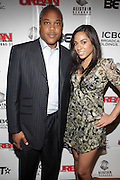 l to r: Bernard Bronner and Sharon Carpenter at The Urban Network Magazine and Alistair Entertainment V.I.P Reception honoring Stephen Hill & Charles Warfield & theCelebration of Urban Network's 21st Anniversary held at the Canal Room on May 13, 2009 in New York City .