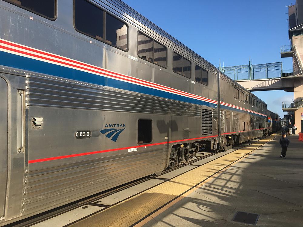 Amtrak Zephyr at Oakland CA station