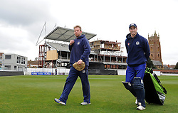 Gloucestershire's Coach Richard Dawson walks off prior to the start  - Photo mandatory by-line: Harry Trump/JMP - Mobile: 07966 386802 - 30/03/15 - SPORT - CRICKET - Pre Season Fixture - T20 - Somerset v Gloucestershire - The County Ground, Somerset, England.