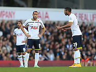 Tottenham's Andros Townsend looks on dejected<br /> <br /> - Barclays Premier League - Tottenham Hotspur vs Stoke City- White Hart Lane - London - England - 9th November 2014  - Picture David Klein/Sportimage
