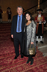STEPHEN & KIMBERLEY QUINN at a party to celebrate 300 years of Tatler magazine held at Lancaster House, London on 14th October 2009.