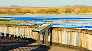 Flight Deck viewing area, Bosque del Apache National Wildlife Refuge, New Mexico USA