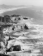 """Ackroyd 05295-01/11""""Arcady Press. Banfield Estate. Westshore Manor. Depoe Bay. June 22. 1954"""" Otter Crest"""