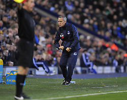Crystal Palace caretaker manger keith millen poses after getting hit by the match ball.-Photo mandatory by-line: Alex James/JMP - Tel: Mobile: 07966 386802 02/11/2013 - SPORT - FOOTBALL - The Hawthorns - West Bromwich - West Bromwich Albion v Crystal Palace - Barclays Premier League
