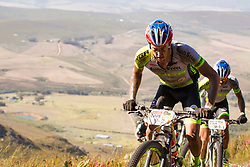 Matthys Beukes of PYGA Euro Steel during stage 1 of the 2017 Absa Cape Epic Mountain Bike stage race held from Hermanus High School in Hermanus, South Africa on the 20th March 2017<br /> <br /> Photo by Nick Muzik/Cape Epic/SPORTZPICS<br /> <br /> PLEASE ENSURE THE APPROPRIATE CREDIT IS GIVEN TO THE PHOTOGRAPHER AND SPORTZPICS ALONG WITH THE ABSA CAPE EPIC<br /> <br /> ace2016