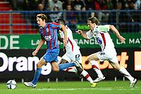 FOOTBALL - FRENCH CHAMPIONSHIP 2010/2011 - L1 - SM CAEN v STADE BRESTOIS - 28/08/2010 - PHOTO GUY JEFFROY / DPPI - DAMIEN MARCQ (CAEN)