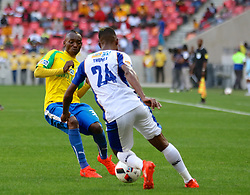 Khama Billiat of Mamelodi Sundowns during the 1st leg of the MTN8 Semi Final between Chippa United and Mamelodi Sundowns held at the Nelson Mandela Bay Stadium in Port Elizabeth, South Africa on the 11th September 2016<br /><br />Photo by: Richard Huggard / Real Time Images