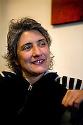 Onorevole Paola Concia, 46, the openly declared homosexual member of the Italian Parliament and of the P.D. (Democratic Party) is portrayed in her house in Rome, Italy, on Monday, 2nd December, 2009.