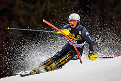 05.03.2017, Podkoren, Kranjska Gora, SLO, FIS Weltcup Ski Alpin, Kranjska Gora, Slalom, Herren, 1. Lauf, im Bild Giuliano Razzoli (ITA) // Giuliano Razzoli of Italy in action during his 1st run of men's Slalom of FIS ski alpine world cup at the Podkoren in Kranjska Gora, Slovenia on 2017/03/05. EXPA Pictures © 2017, PhotoCredit: EXPA/ Johann Groder