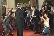 JULIAN BARNES, Man Booker prize 2011. Guildhall. London. 18 October 2011. <br /> <br />  , -DO NOT ARCHIVE-© Copyright Photograph by Dafydd Jones. 248 Clapham Rd. London SW9 0PZ. Tel 0207 820 0771. www.dafjones.com.