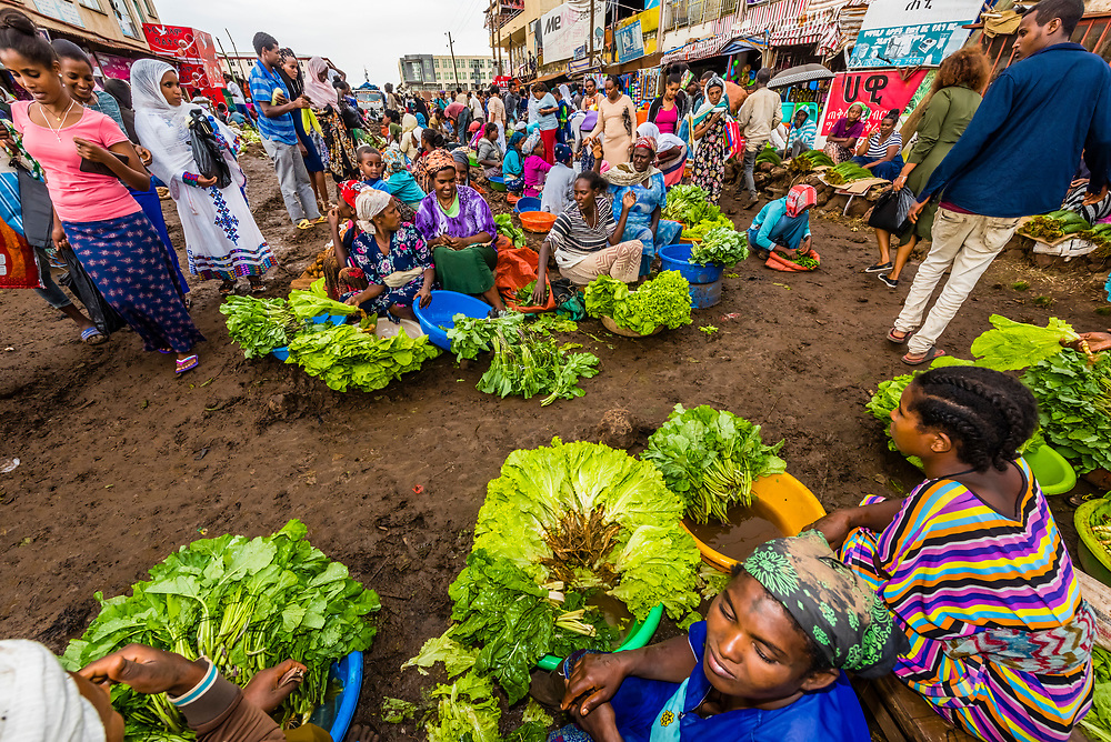 Produce market, Bahir Dar, Ethiopia