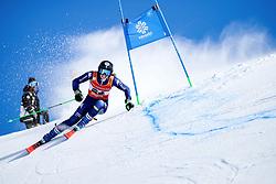 Vivien Insam (ITA) during giant slalom race at FIS European Cup Krvavec 2021, February 2, 2021 in Krvavec, Cerklje na Gorenjskem, Slovenia. Photo by Matic Klansek Velej / Sportida
