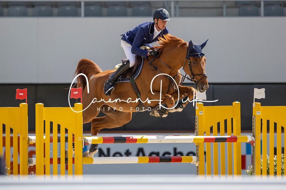 Deusser Daniel, GER, Newton van het Krekelhof<br /> Aachen International Jumping<br /> Aachen 2020<br /> © Hippo Foto - Stefan Lafrentz<br /> 05/09/2020