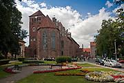Kętrzyn, 2009-08-09. Bazylika Mniejsza pod wezwaniem św. Jerzego w Kętrzynie