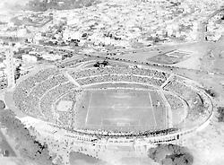 Aerial view of the Estadio Centenario, venue for the final