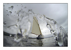 Day one of the Fife Regatta, Round Cumbraes Race.<br /> <br /> Seabird, Frank Narbonne, FRA, Gaff Cutter, Wm Fife 3rd, 2000<br /> <br /> * The William Fife designed Yachts return to the birthplace of these historic yachts, the Scotland's pre-eminent yacht designer and builder for the 4th Fife Regatta on the Clyde 28th June–5th July 2013<br /> <br /> More information is available on the website: www.fiferegatta.com