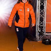 NLD/Amsterdam/20180226 - Thuiskomst TeamNL, Michelle Dekker
