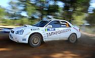 Eli EVANS & Chris MURPHY .Subaru  Impreza WRX.Motorsport-Rally/2009 Forest Rally .Heat 1.4th of April 2009.Nannup, Western Australia.(C) Joel Strickland Photographics
