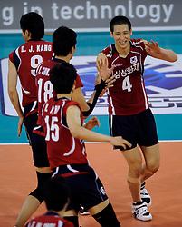 08-07-2010 VOLLEYBAL: WLV NEDERLAND - ZUID KOREA: EINDHOVEN<br /> Nederland verslaat Zuid Korea met 3-0 / Sung Min Moon<br /> ©2010-WWW.FOTOHOOGENDOORN.NL