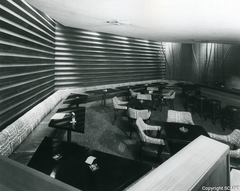 1966 Romanoff's Restaurant on Rodeo Dr. in Beverly Hills