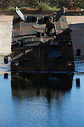 Sete Lagoas, Brasil.<br /> <br /> Linha de montagem da Iveco Veiculos de Defesa, que produz o blindado Guarani para o exercito brasileiro.<br /> <br />  Iveco Defense Vehicles production, which produces armored Guarani for the Brazilian army.<br /> <br /> Foto: LEO DRUMOND / NITRO