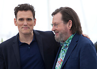 Matt Dillon and director Lars Von Trier at the The House That Jack Built film photo call at the 71st Cannes Film Festival, Monday 14th May 2018, Cannes, France. Photo credit: Doreen Kennedy