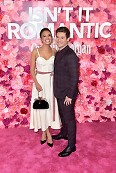 February 11, 2019 - Los Angeles, Kalifornien, USA - Chloe Bridges und Adam Devine bei der Weltpremiere des Kinofilms 'Isn't It Romantic' im Theatre at Ace Hotel. Los Angeles, 11.02.2019 (Credit Image: © Future-Image via ZUMA Press)