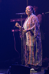 Lalah Hathaway during Strength of a Women tour at Chicago Theatre on July 30, 2017, in Chicago, Illinois (Photo by Daniel DeSlover/imageSPACE) *** Please Use Credit from Credit Field ***
