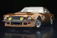 The Aston Martin Vantage radiates class. In the 1970s there was a clear need for yet another stylish model that radiated British phlegm. With this Aston Martin Vantage, Aston Martin Vantage more than fulfilled that task.