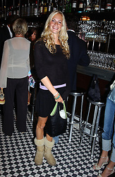 MISS POPPY DELEVINGNE at a party hosted by Frankie Dettori, Marco Pierre White and Edward Taylor to celebrate the launch of Frankie's Italian Bar & Grill at 3 Yeomans Row, London SW3 on 2nd September 2004.