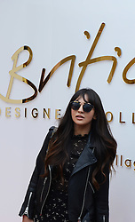 © London News Pictures. 20/05/2015. Zara Martin.<br /> British Designers Collective. Celebrities  launch 6-week pop up shop at Bicester Village. Celebrities launching the 6-week event called the British Designers Collective in which a pop-up shop has been installed to sell one of pieces from up and coming designers. Photo credit: Richard Cave/LNP