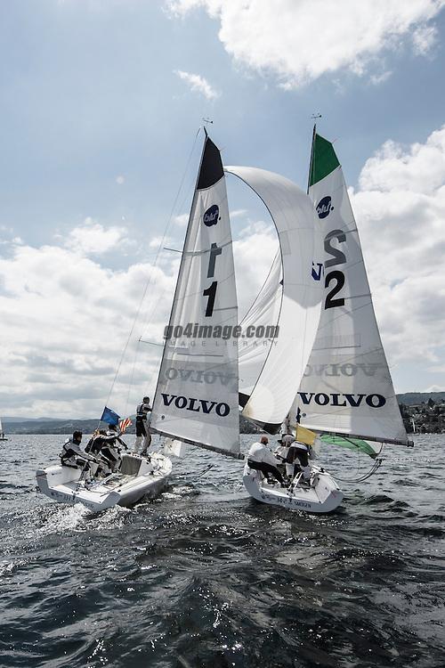 Volvo Match Race Cup 2012 Zurich<br /> 13.5.2012 Zurich<br /> Semifinal & Final Day