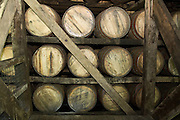 Interior of the Jim Beam Bourbon and Whiskey distillery, Clermont, Kentucky, USA