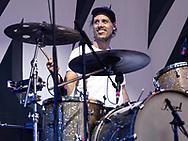 Marcel Römer of German indie-pop band Juli at Stadtfest Ludwigshafen