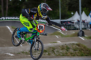 #108 (RESTREPO RESTREPO Maria Camila) COL during round 3 of the 2017 UCI BMX  Supercross World Cup in Zolder, Belgium,